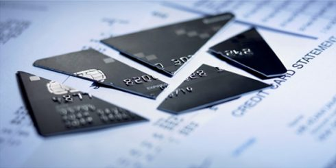 bankrupt credit card debt