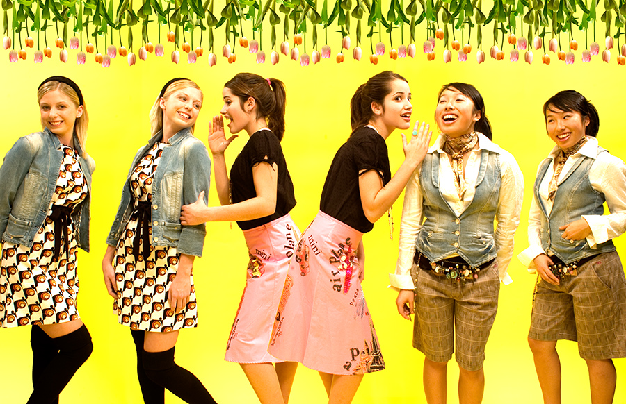 Spring Fashion - Madeline Dimperio, Lindsay Grevers, and Leanne Mark