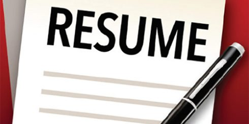 writing a great resume