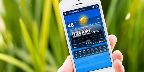 Accuweather app iphone