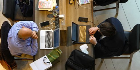 Coworking Office Laptops