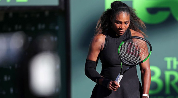Serena Williams Tennis Champ
