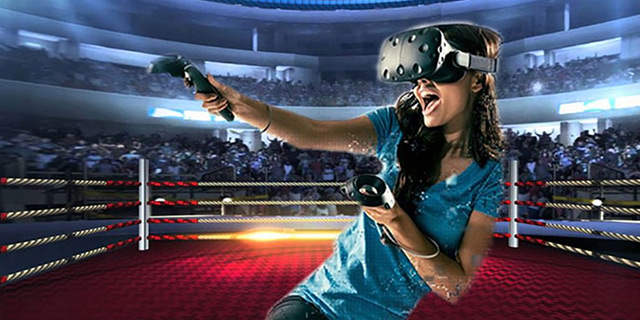 VR Virtual Reality Gaming Boxing