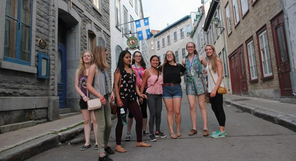 My Odyssey - Explore Canada program - students in Quebec