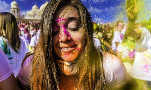 female solo travel india holi