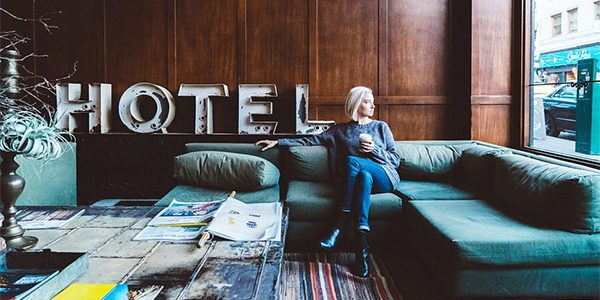 female solo travel hotel