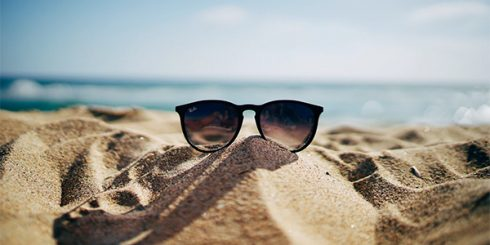 sunglasses beach dream vacation