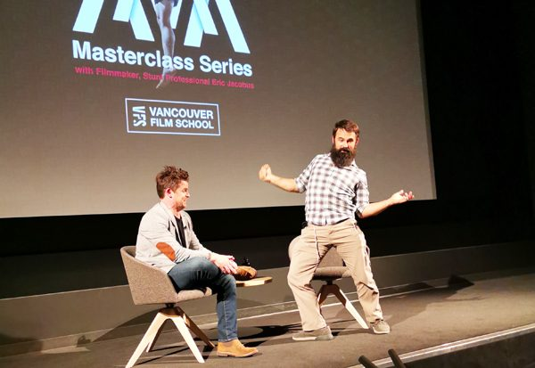 Vancouver Film School Masterclass with Eric Jacobus