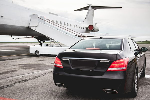 airport transfer limo private jet