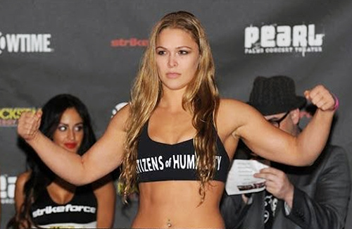 Ronda Rousey female mma fighters