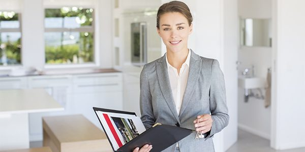 Real estate sales women single mom careers
