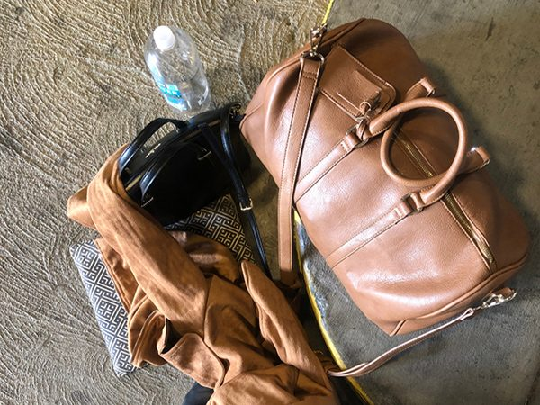Leather Weekender Bag - Duffle Bag