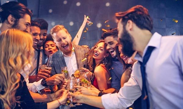 office party - corporate perks