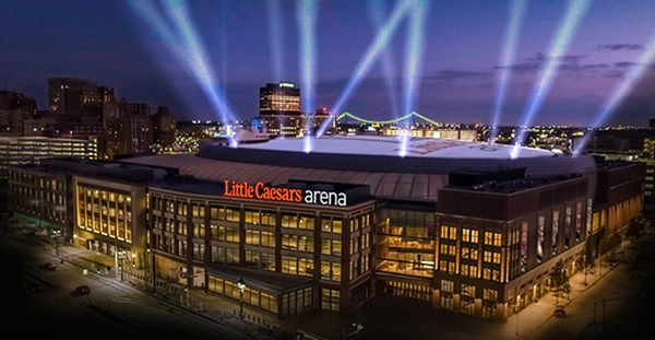 Little Caesars Arena Detroit