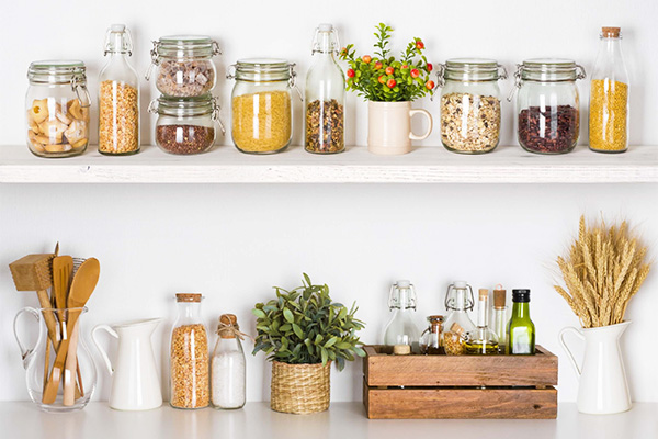 Pantry Jars Dry Goods
