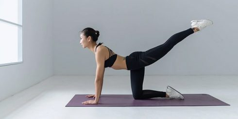 Asian Yoga Woman - Health & Well-being