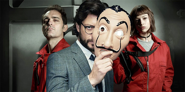 Money Heist - Lockdown TV Time