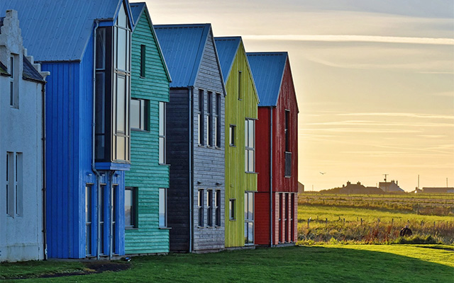 Investing in Real Estate - Colourful Houses