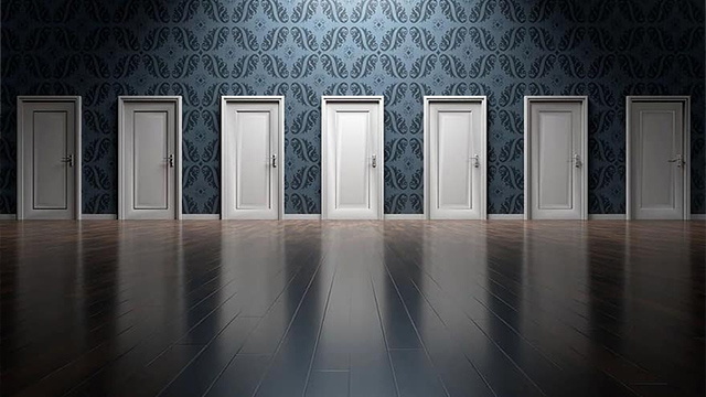 doors - decisions, choosing your investments