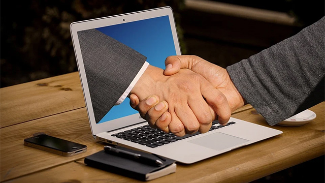 meeting online strangers transaction agreement