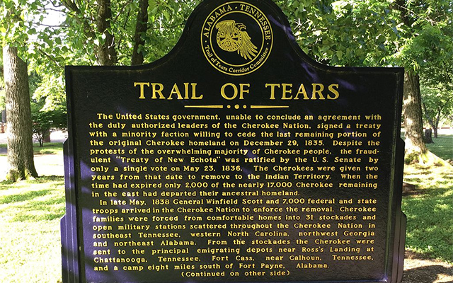 Cherokee Indians Trail of Tears