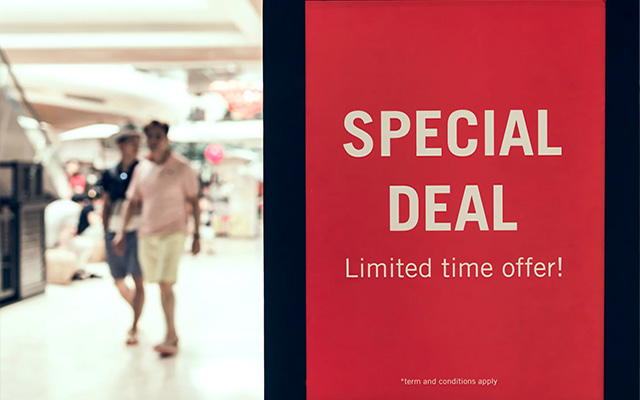 mall retail your customers sale