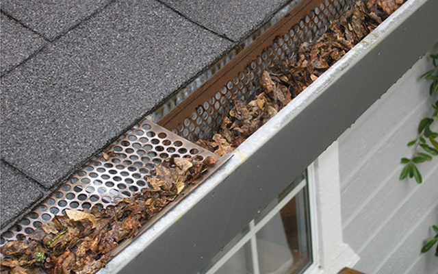 your roof gutter