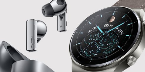 Huawei Canada Wearable Tech FreeBuds Watch GT Pro