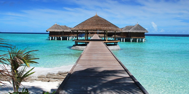 Great places The Maldives tropical vacation