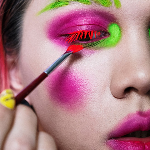 colourful makeup beauty mistakes