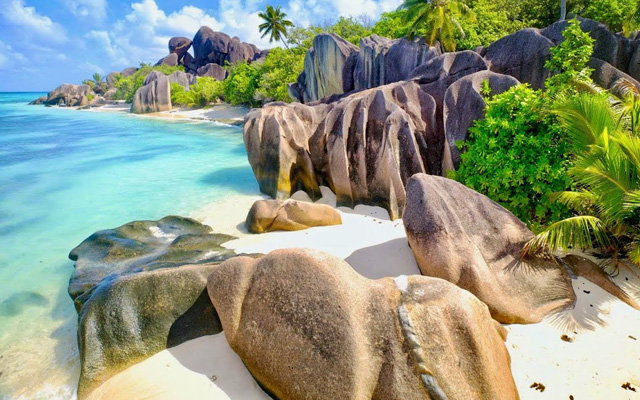 Anse Source d'Argent - Seychelles - best beaches in the world