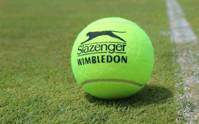 Wimbledon tennis ball