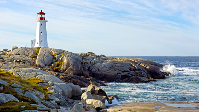 Peggys Point Lighthouse places in canada
