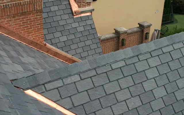 synthetic roofing tiles