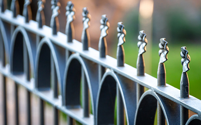 metal fence protection